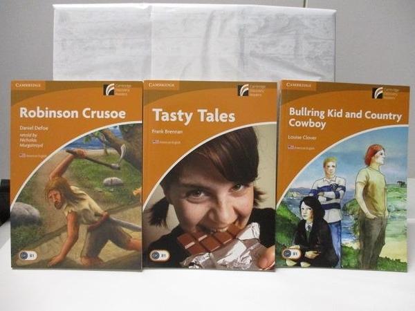 【書寶二手書T3/語言學習_BZ5】Tasty Tales_Robinson Crusoe等_3本合售