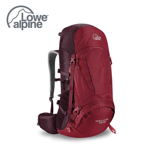 Lowe Alpine Cholatse ND 45 透氣網背登山背包 里約紅 #FMP72