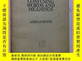 二手書博民逛書店英文書罕見dictionary of confusing words and meanings 混淆詞義詞典Y