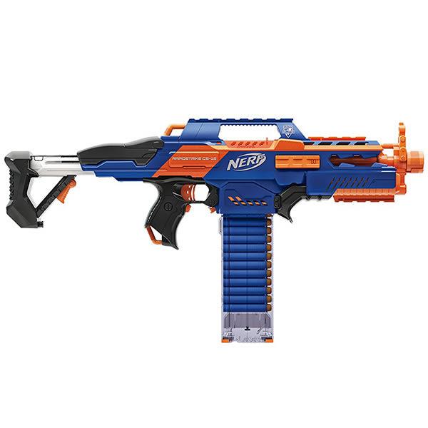 NERF兒童射擊玩具 孩之寶Hasbro 速擊連發機關槍 A4492