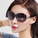 新款偏光太陽鏡女士潮大框圓臉墨鏡個性優雅開車駕駛太陽眼鏡