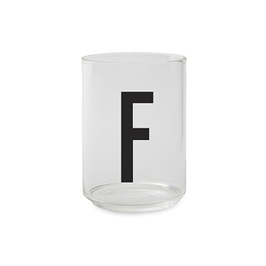 Design Letters 字母玻璃杯 F
