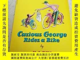 二手書博民逛書店Curious罕見George Rides aBike(外文)Y