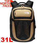 【The North Face 31L 15吋電腦背包 芥末棕/鳳凰木橘】NF00CLG4/電腦書包/筆電包/後背包★滿額送