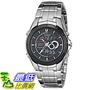 [美國直購] 手錶 Casio Men s EFA119BK-1AV Ana-Digi Edifice Stainless Steel Watch