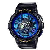 CASIO BABY-G/童趣旅遊時尚風運動錶/BGA-190GL-1BDR