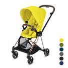 ◆新生兒開始使用至15公斤(約4歲) ◆收車後可站立不傾倒 ◆鋁製車架 ◆四輪避震系統 ◆永不漏氣胎
