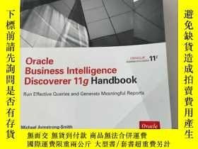二手書博民逛書店Oracle罕見Business Intelligence Discoverer 11g HandbookOrac