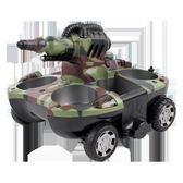 坦克玩具遙控可發射電動打彈噴水充電玩具