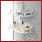 創意無痕六片壁掛式置物架 層板架 浴室廚房收納架 免釘免打孔【AP07025】 i-Style居家生活
