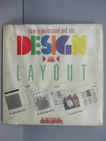 【書寶二手書T8/設計_QBZ】Design and Layout