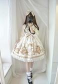 洛麗塔洋裝-日系洛麗塔阿爾克納之夢學生復古日常洋裝lolita洋裝子蘿莉少女 完美情人館YXS