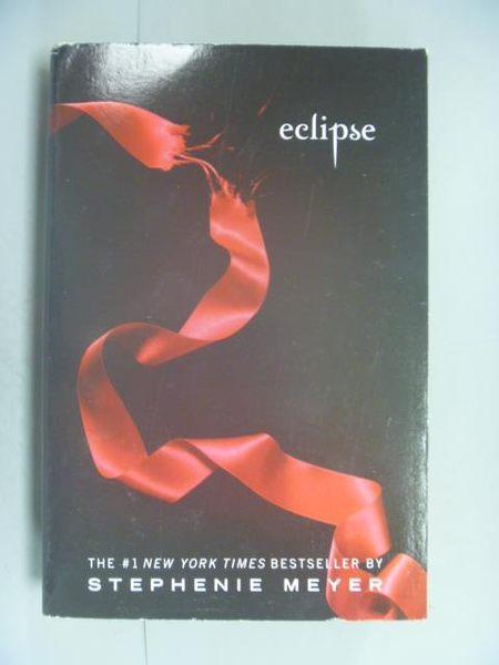 【書寶二手書T2/原文小說_LED】Eclipse_Stephenie Meyer