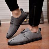 春季新款男士休閒戶外運動鞋男式單鞋復古英倫板鞋潮廠家直銷 完美情人
