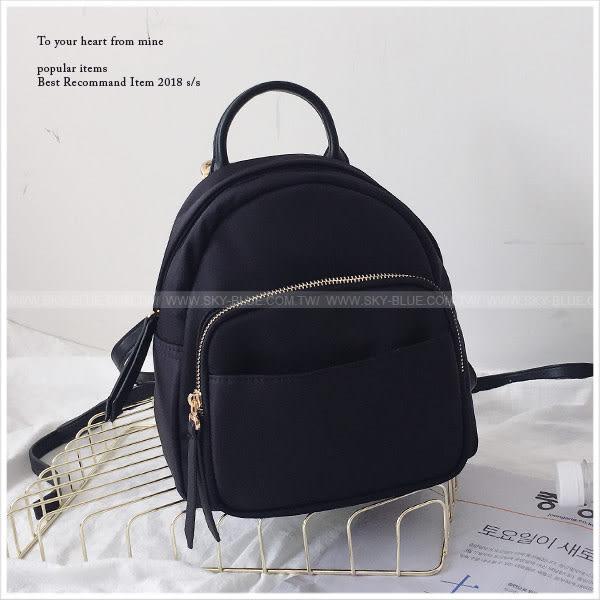 後背包-極簡率性輕便多功能後背包-單1款-A12121611-天藍小舖