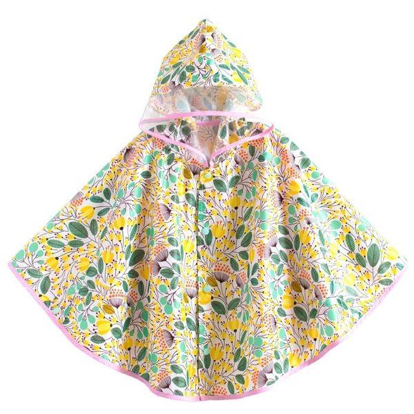 韓版《亮彩印花款》兒童雨衣~雨披