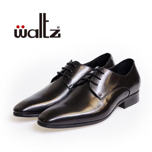 Waltz-素面經典簡約德比鞋212172-02(黑)