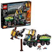 LEGO 樂高 Technic Forest Machine 42080 Building Kit (1003 Piece)