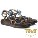 【TEVA】Voya 女羅馬織帶涼鞋『灰...