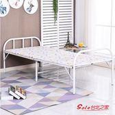 摺疊床 摺疊床家用單人床出租房午休床經濟型便攜行軍床隱形床午睡床T 2色