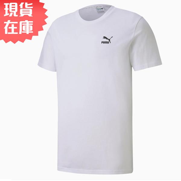 【現貨】PUMA Shoe box 男裝 短袖 T恤 流行 棉質 鞋盒LOGO 歐規 白【運動世界】59642702