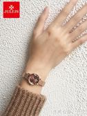 女士手手錶學生韓版簡約時尚防水石英手錶鋼帶手手錶女ins風氣質 ◣怦然心動◥