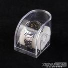 透明表盒表托掛擺兩用塑料手錶盒手錶展示盒電子手錶盒手錶包裝盒『新佰數位屋』