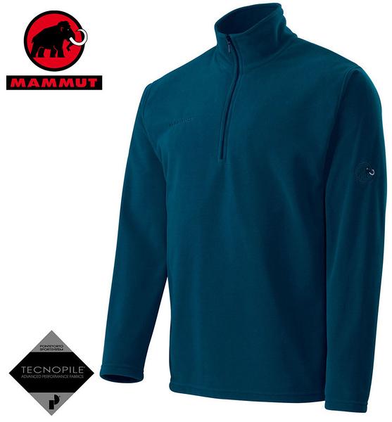 丹大戶外用品【MAMMUT】瑞士長毛象Yukon Trim Men男款休閒保暖套衫 型號1040-00120-5189 深藍