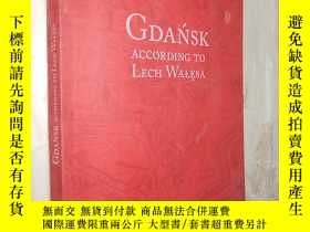 二手書博民逛書店Gdańsk罕見according to Lech Wałęsa