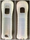 【Wii週邊】 Wii右手果凍套 白色矽膠套 【任天堂原廠 裸裝二手】台中星光電玩