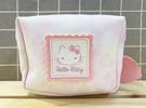 【震撼精品百貨】Hello Kitty 凱蒂貓~Hello Kitty日本SANRIO三麗鷗KITTY化妝包/筆袋-柔和粉*56356