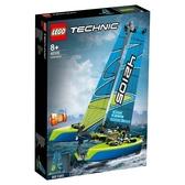 【LEGO樂高】科技系列 -  雙體帆船  #42105
