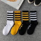 韓國襪子男長襪潮流韓版歐美街頭嘻哈時尚個性女襪籃球滑板襪長筒 韓幕精品