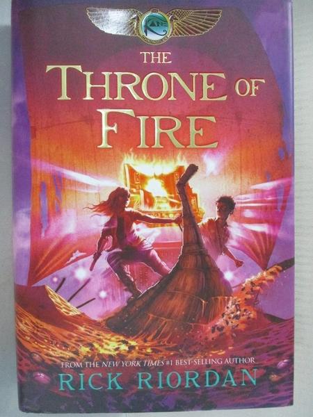 【書寶二手書T9/原文小說_DAQ】The Throne of Fire_Riordan, Rick