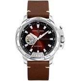 Giorgio Fedon 1919 TIMELESS IX系列開芯機械腕錶 GFCK001 褐色