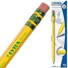 【德國 LYRA】1150100  百年經典(附橡擦)黃桿鉛筆 HB 12入/盒