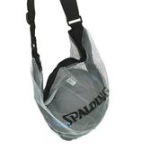 Spalding [SPB5321N69] 單顆裝 網袋 攜帶方便 附肩袋 不含籃球 斯柏丁 銀藍