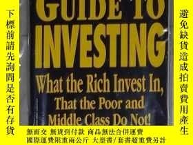 二手書博民逛書店英文原版罕見Rich Dad s Guide to Invest
