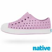 native JEFFERSON CHILD 奶油頭鞋-薰衣紫x貝殼白(小童)