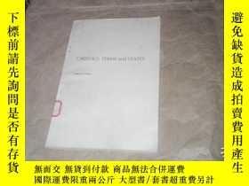 二手書博民逛書店(英文版)ORBITALS,TERMS罕見and STATES軌
