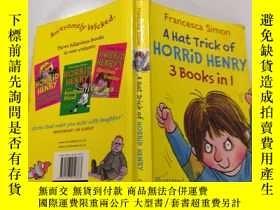 二手書博民逛書店a罕見hat trick of horrid henry: 可怕的亨利的帽子戲法Y212829