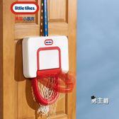 籃球架美國小泰克掛式籃球架兒童可升降寶寶投籃室內玩具家用籃球框XW(中秋烤肉鉅惠)
