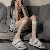 小腿襪女薄款冰絲透明中筒襪潮日系運動天鵝絨高筒顯瘦長襪【毒家貨源】