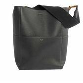 【CELINE】荔面小牛皮SANGLE BUCKET手袋(中款)(黑) CE11000021