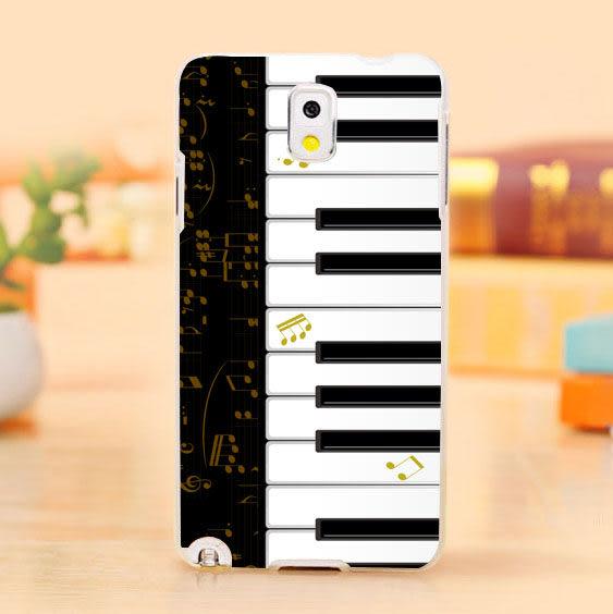 [ 機殼喵喵 ] 三星 Samsung i9600 Galaxy S5 手機殼 客製化 照片 外殼 全彩工藝 SZ127 鋼琴琴鍵