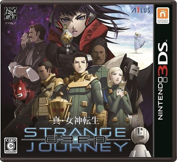 預購10/26 3DS真女神轉生 真 女神轉生  DEEP STRANGE JOURNEY 純日版