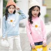 毛衣女童冬天保暖打底衫新款百搭潮流時尚特價毛衫