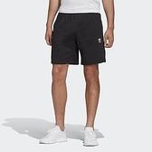 ADIDAS 短褲 ORIGINALS 小LOGO 短棉褲 黑 男 (布魯克林) FR7977