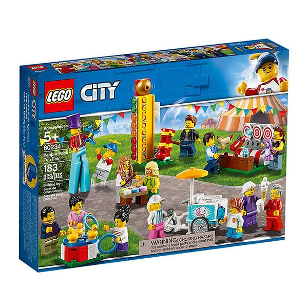 60234【LEGO 樂高積木】City 城市 人偶套裝 People Pack 園遊會 Fun Fair