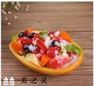[協貿國際]仿真木瓜水果沙拉模型...